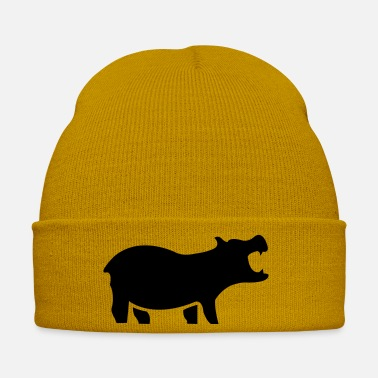 Mammal nilpferd_1 - Winter Hat