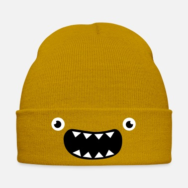 Comic Funny Monster Face - Winter Hat