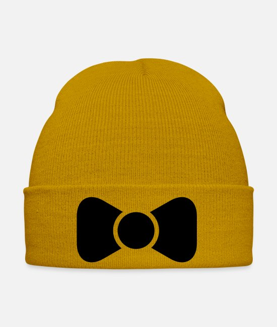 Party Caps & Hats - suit fly - Winter Hat mustard yellow