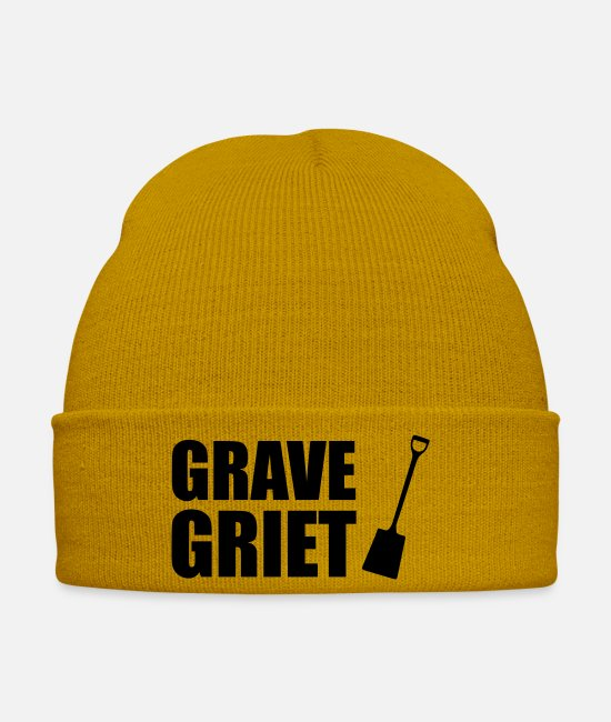 Hussy Caps & Hats - Grave brill - Winter Hat mustard yellow