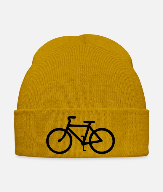 Mountains Caps & Hats - Bicycle - Winter Hat mustard yellow