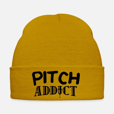 Pitch pitch addict edgy design - Winter Hat
