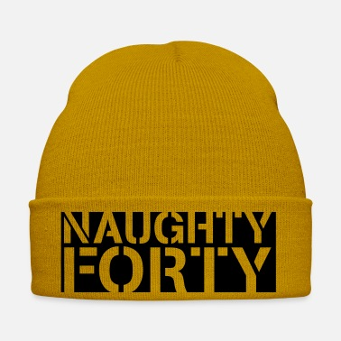 Birthday naughty forty - Winter Hat
