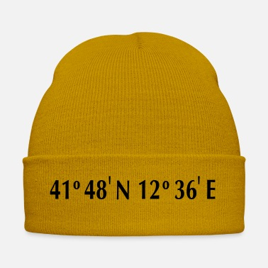 Latitude Rome - Longitude & Latitude - Winter Hat