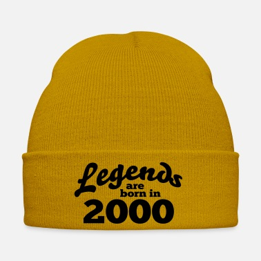Born In Year of birth 2000 | Vintage gift - Winter Hat