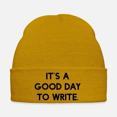 Writing Its A Good Day To Write - Winter Hat