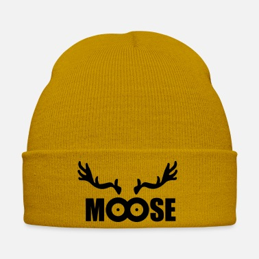 Elg Moose (sort) - Vinterhue