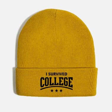 College I Survived College - Winter Hat