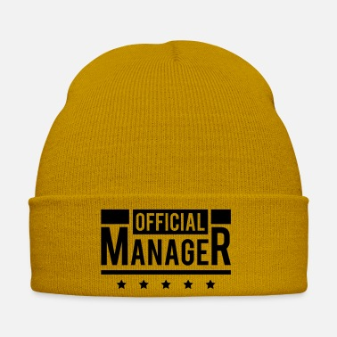 Career official_manager_d1 - Winter Hat