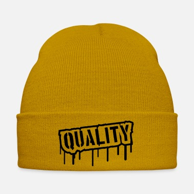 Quality Quality Stamp Logo - Winter Hat