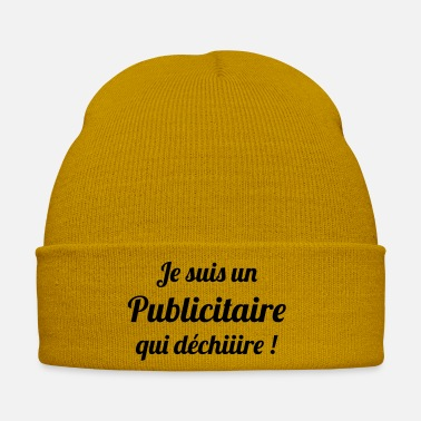 Advertising Werbung Publicist Advertising Publicitaire Pub - Winter Hat