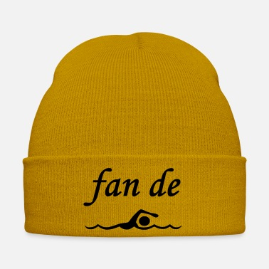 Fan fan de natation - Bonnet