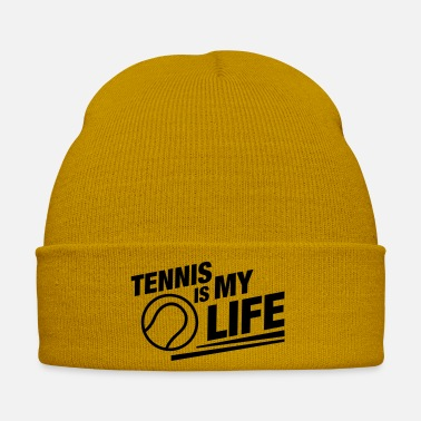 Life tennis_is_my_life_no1 - Wintermütze