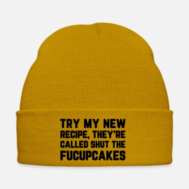 Cake Shut The Fucupcakes Funny Quote - Winter Hat