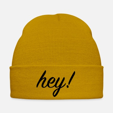 Pickup Line hey - Winter Hat
