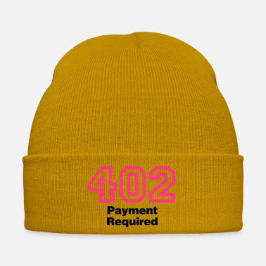 Apache Error 402 Payment Required - Wintermütze