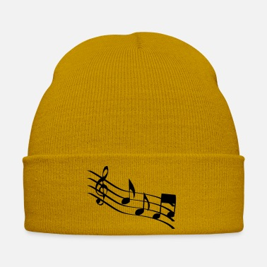 music notes - Winter Hat