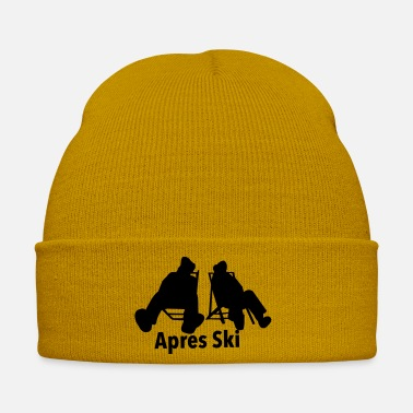 Skies Ski, ski, skiing, après ski, freeski, freeskiing - Winter Hat