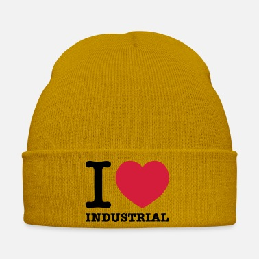 Industry I love Industrial Techno music - Winter Hat