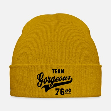 Established TEAM Gorgeous 76er - 1976 Birthday Anniversaire - Winter Hat