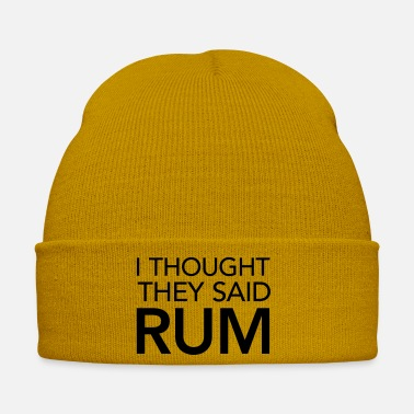 Garmin I Thought They Said Rum - Winter Hat