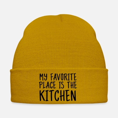 Training My Favorite Place Is The Kitchen - Winter Hat