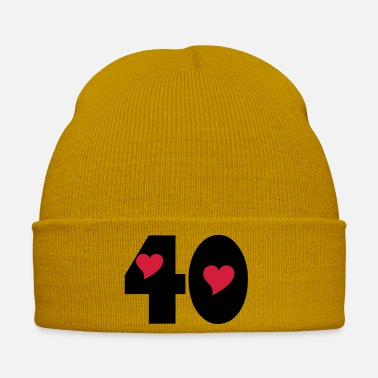 Product ★Number Forty 40-Best Number & Best Age★ - Winter Hat