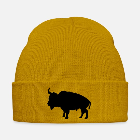 Wilderness Caps & Hats - Bison - Winter Hat mustard yellow