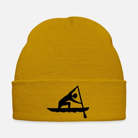 Fisherman Caps & Hats - canoe sprint_csp2 - Winter Hat mustard yellow