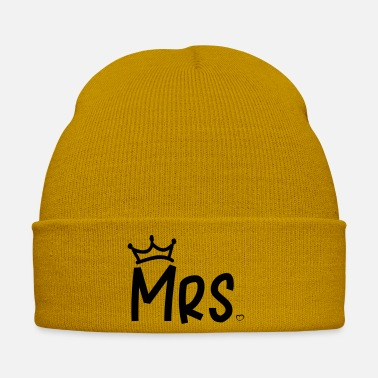Mrs Mr Wifey mrs_heart_crown - Winter Hat