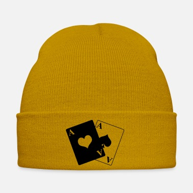 Poker Pair of ace - Winter Hat