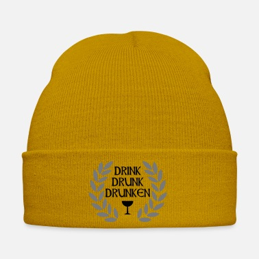Hilarious drink drunk drunken - Winter Hat