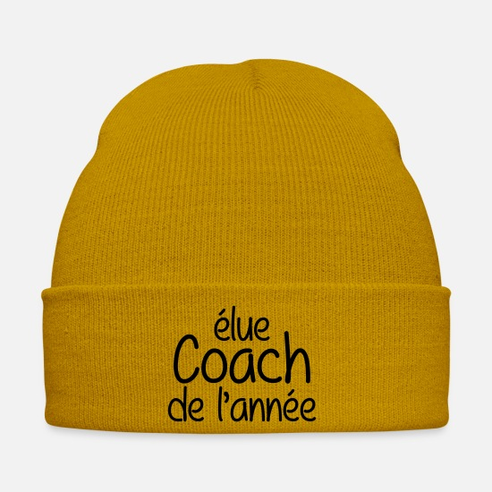 Boss Caps & Hats - Coach / Coaching / Sport / Entraineur / Sportif - Winter Hat mustard yellow