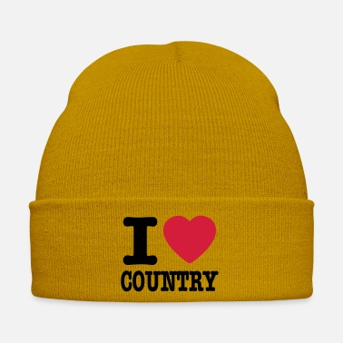 Country i love country / i heart country - Cappello invernale