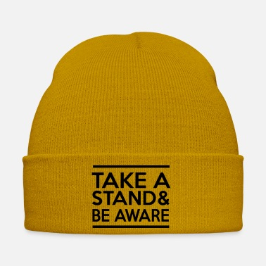 Awareness Take a Stand & Be Aware - Winter Hat
