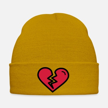 Heartache Broken heart, heartache sadly in love - Winter Hat