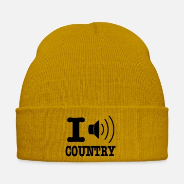 Country I music country / I love country - Cappello invernale