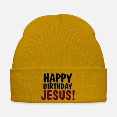 Cristo Jesus Happy birthday jesus - Cappello invernale