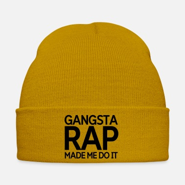 Rap Gangsta rap made me do it - Winter Hat