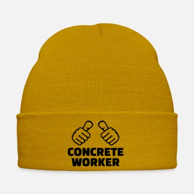 Worker Concrete worker - Winter Hat