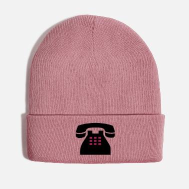 Community Mobile phone, telephone, communication, bells, - Winter Hat