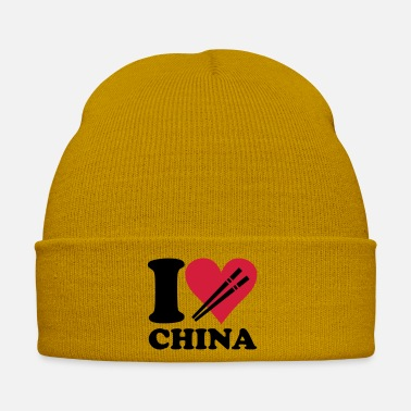 China China - I love China - Winter Hat