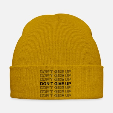 Start Don't Give Up - Winter Hat