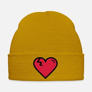 Heartache Heart with tear - Winter Hat
