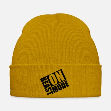 Beast Mode Beast-Mode On Logo - Winter Hat