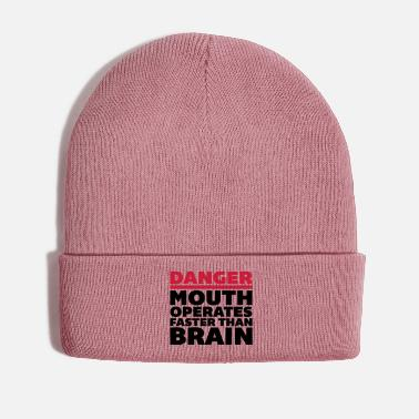 Brain Mouth Faster Than Brain - Winter Hat