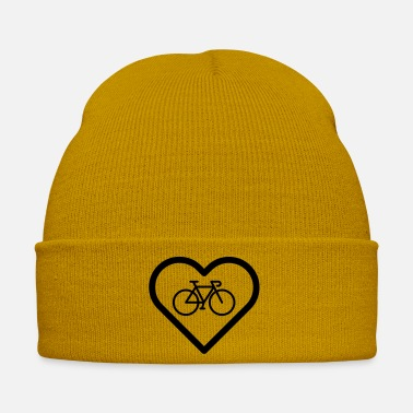 Go Heart bike cycling cycling gift idea eco - Winter Hat