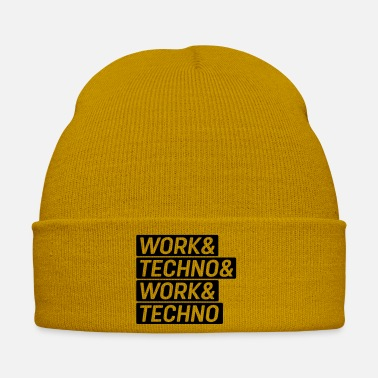 Worker Work & Techno & Work & Techno - Bonnet