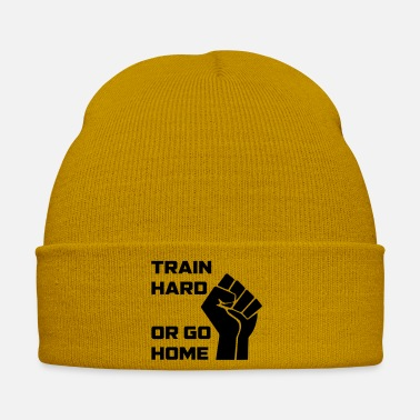 Course Automobile TRAIN HARD go HOME - Bonnet