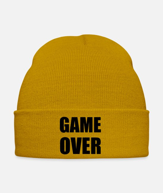 Marie Caps & Hats - game over - Winter Hat mustard yellow